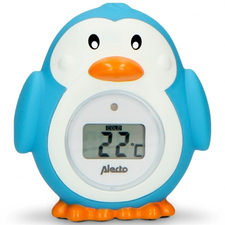 Alecto Penguin Bad- en Kamerthermometer