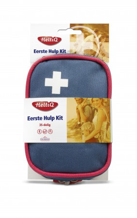 HeltiQ Eerste Hulp Kit Blauw