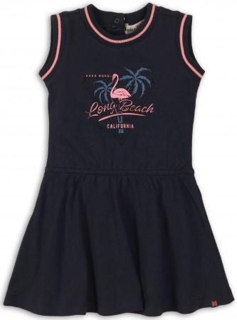 Koko Noko Jurk Flamingo Navy