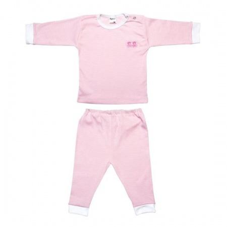 Beeren Pyjama Roze Streep