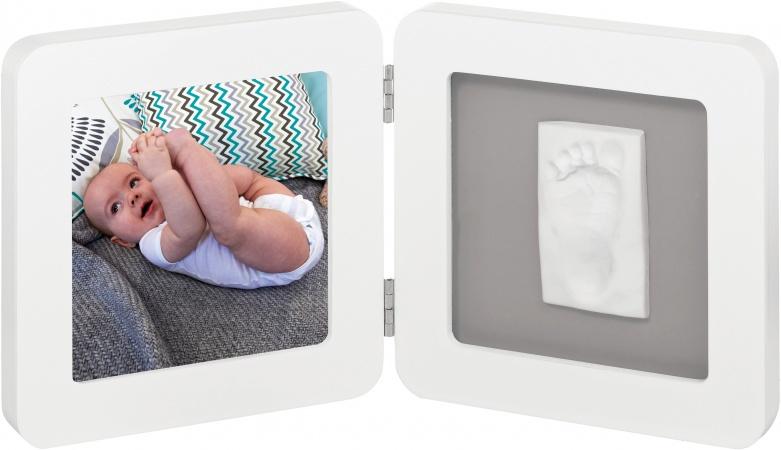 Baby Art Print Frame White