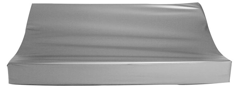 Waskussen Uni Zilver 67 x 45 x 9 cm.