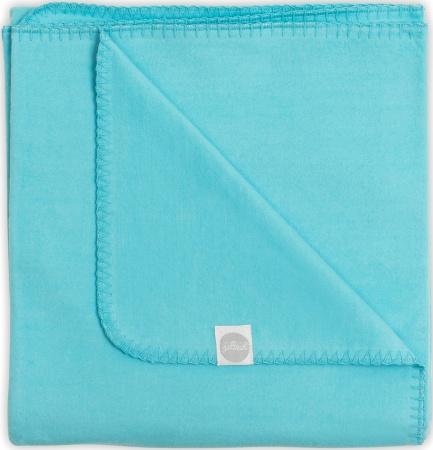Jollein Deken Turquoise <br> 75 x 100 cm