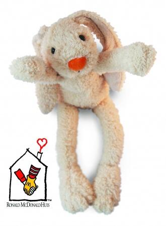 Kinderfondsknuffel Ronald McDonald Beige 42 cm