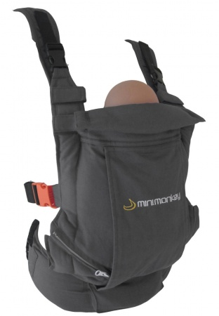 Minimonkey Baby Carrier Grey
