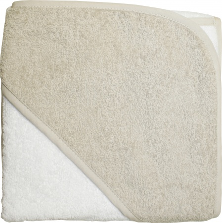 BD Collection Babycape Wit / Taupe
