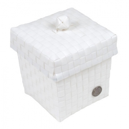 Handed By Box & Top Ascoli <br>Mini White