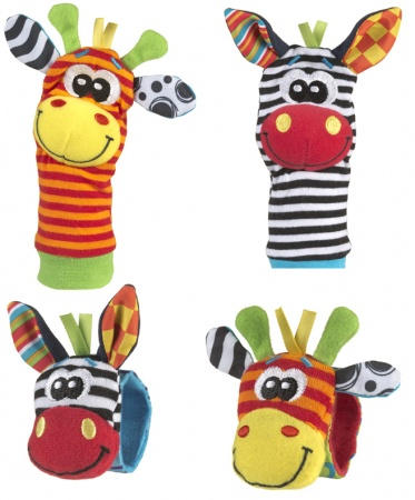 Playgro Jungle Wrist Rattle & Foot Finder