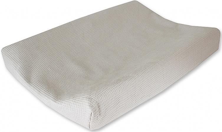 Cottonbaby Waskussenhoes Wafel Lichtgrijs