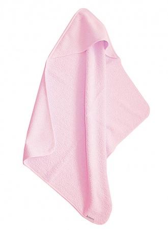 Cottonbaby Badcape Wafel Roze
