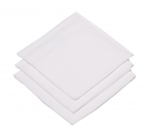 BD Collection Hydrofiele Monddoekjes Wit (3 stuks)