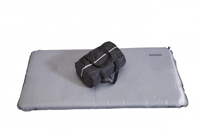 Deryan Self-Inflatable Matras Voor Campingbed Antraciet