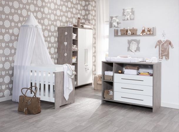 Deuren Voor Kinderkamers : Schardt ledikant commode laden hanglegkast deuren neo