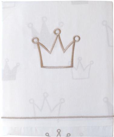 Jollein Dekbedovertrek Kroon Zand <br> 100 x 140 cm