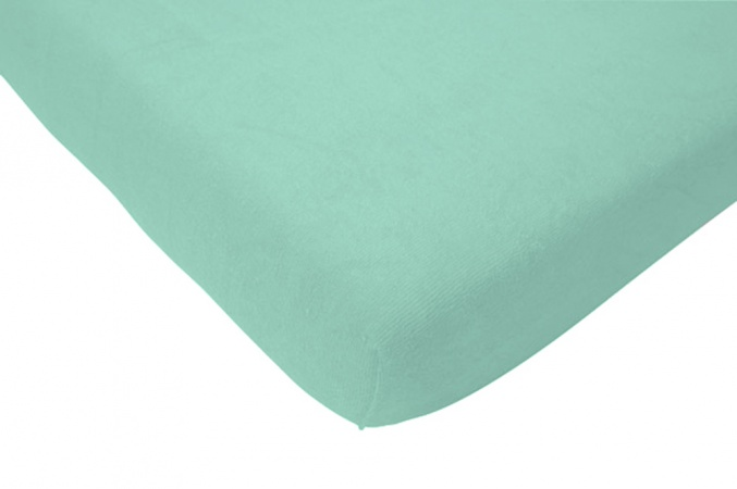 Hoeslaken Jersey Jade<br> 60 x 120 cm