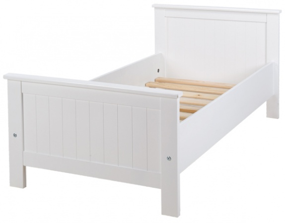 Peuterbed Hoogglans Wit.Coming Kids Junior Bed 70 150 Wit Coming Kids Baby Dump