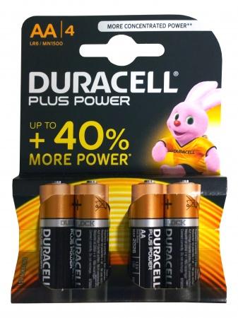 Duracell Batterij AA (4 stuks)