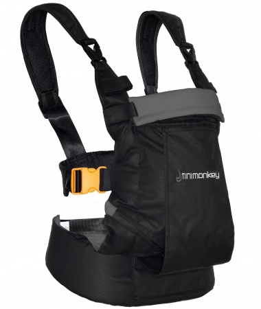 Minimonkey Dynamic Carrier Black / Dark Grey