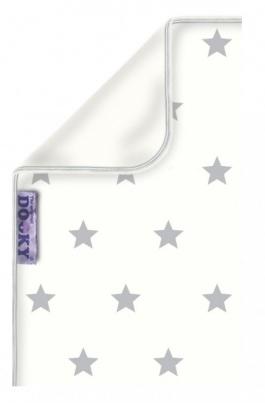 Dooky Deken Katoen Silver Stars<br> 70 x 85 cm