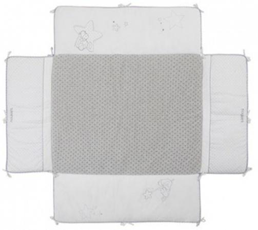 Noukie's Boxkleed Poudre D'étoiles Met Omranding<br> 75 x 95 cm