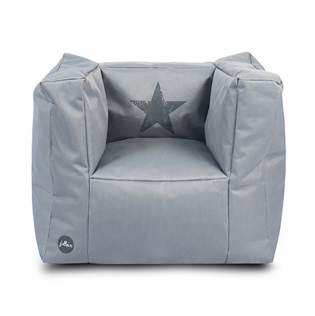 Jollein Fauteuil Faded Star Grey