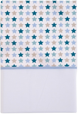 Little Dutch Laken Mixed Stars Mint<br> 70 x 100 cm