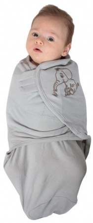 Bo Jungle Baby Wrap Grey Large