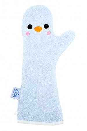 Invented 4 Kids Baby Shower Glove <br> Pinguin Blauw