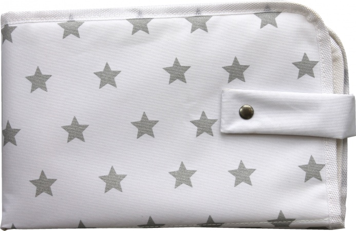Dooky Changing Pack Silver Stars