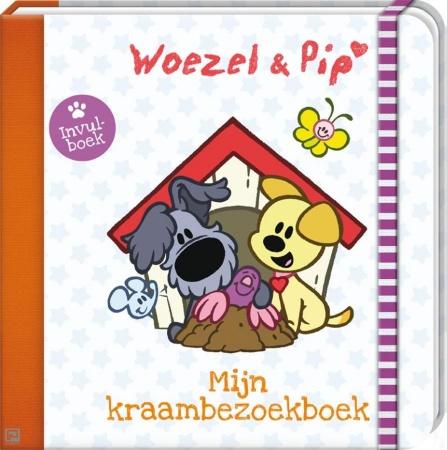 Image Books<br> Woezel & Pip Mijn Kraambezoekboek