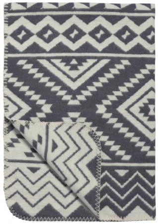 Meyco Deken Ethnic Grijs<br> 75 x 100 cm