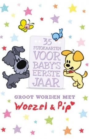 Leopold<br> Fotokaarten Groot Worden Met Woezel & Pip