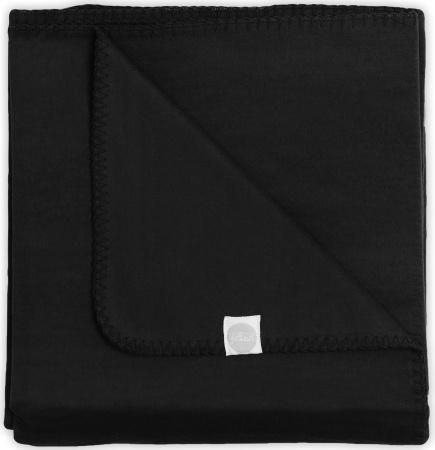 Jollein Deken Zwart<br> 75 x 100 cm