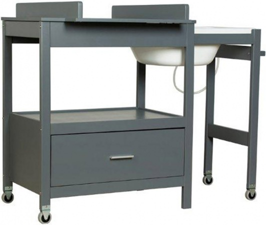 Badcommode Pericles Emma Moon Grey Inclusief Lade