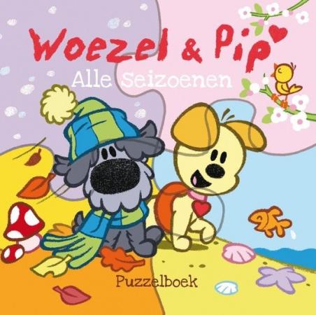 Leopold<br> Puzzelboek Woezel & Pip