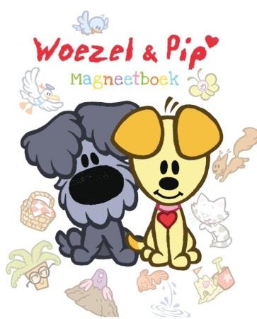 Leopold<br> Woezel & Pip Magneetboek