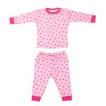 Beeren Pyjama Ster Fuchsia