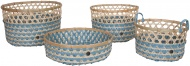 Handed By Bamboo Basket Set