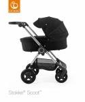Stokke® Scoot™ Grey Melange Seat Foam Handle Combi