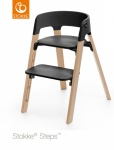 Stokke® Steps™ Chair Seat Black