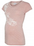 T-Shirt Korte Mouw Washy Old Rose