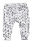 Broek Snowberry White Grid