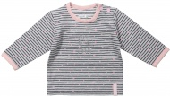 T-Shirt Stripe Grey/Pink
