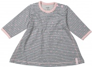Jurk Stripe Grey/Pink