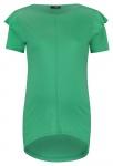 T-Shirt Ruffle Bright Green