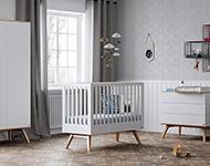 Babykamer Daan Baby Dump.Kidsmill Sixties Ledikant Perfect Kidsmill Somero Glossy Single Bed