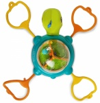 Infantino Suction Cup Link & Spin Turtle