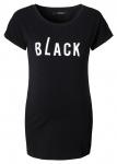 T-Shirt Text Black