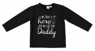 T-Shirt Daddy Black