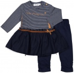 2-Delige Set Dress Copper Navy